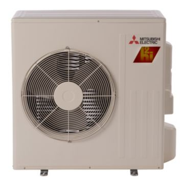 Mitsubishi MUZ-FH15NA - 15,000 BTU 22 SEER Ductless Mini Split Heat Pump Outdoor Unit 208-230V with H2iÆ Hyper Heat