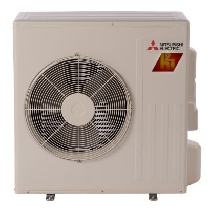 Mitsubishi MUZ-FH15NA - 15,000 BTU 22 SEER Ductless Mini Split Heat Pump Outdoor Unit 208-230V with H2i® Hyper Heat