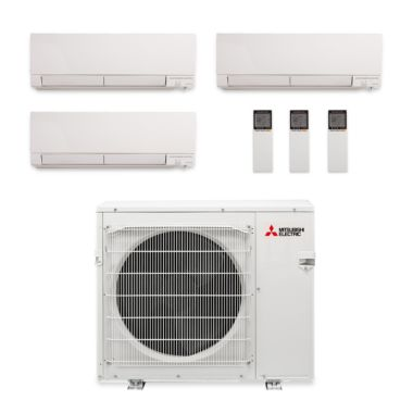 indoor and ductless components mitsubishi comfort air heat conditioning heating hvac