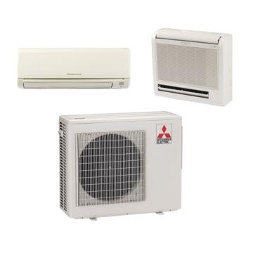 Mitsubishi MXZ2B20NA12023 - 18,000 BTU Dual-Zone Mixed Mini Split Air Conditioner Heat Pump 208-230V (6-12)