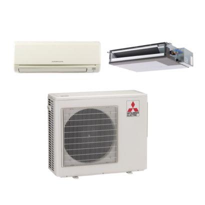Mitsubishi MXZ2B20NA12030 - 20,000 BTU Dual-Zone Mixed Mini Split Air Conditioner Heat Pump 208-230V (9-9)
