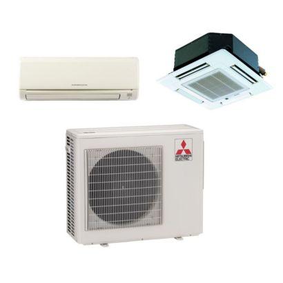 Mitsubishi MXZ2B20NA12035 - 18,000 BTU Dual-Zone Mixed Mini Split Air Conditioner Heat Pump 208-230V (6-12)