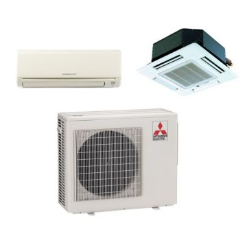 Mitsubishi MXZ2B20NA12038 - 18,000 BTU Dual-Zone Mixed Mini Split Air Conditioner with Heat Pump 220V (9-12)