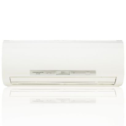 Mitsubishi 18,000 BTU I-SEE Dual-Zone Wall Mount & Ceiling Cassette Mini Split Air Conditioner Heat Pump 208-230V (9-12)