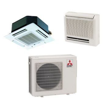Mitsubishi MXZ2B20NA12057 - 18,000 BTU Dual-Zone Mixed Mini Split Air Conditioner Heat Pump 208-230V (9-12)