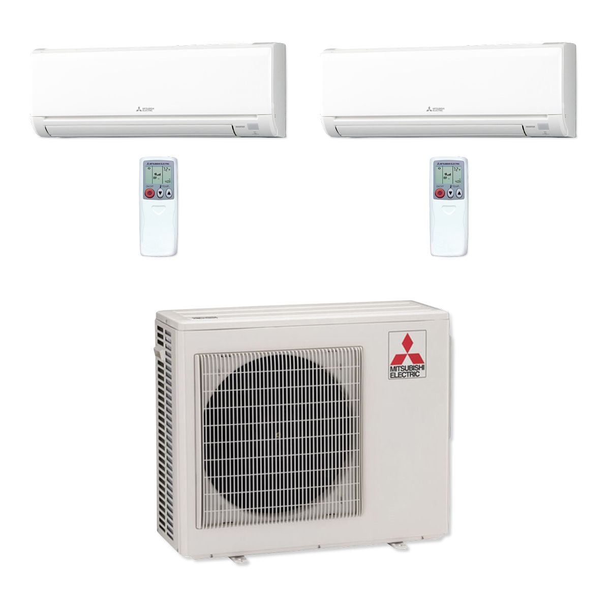 ductless and compasshvac compass as i best chicagoland heat by system conditioning pumps condo heating indoor cooling installed unit on see of part bedroom multi in zone a images mitsubishi with sensor air