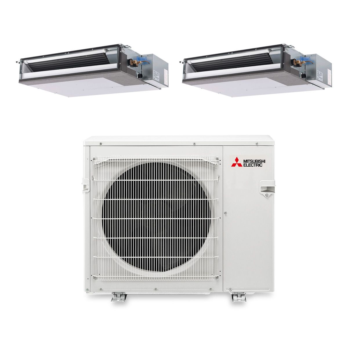 choes mitsubishi babypro split no unit work ducted club ac duct f heing