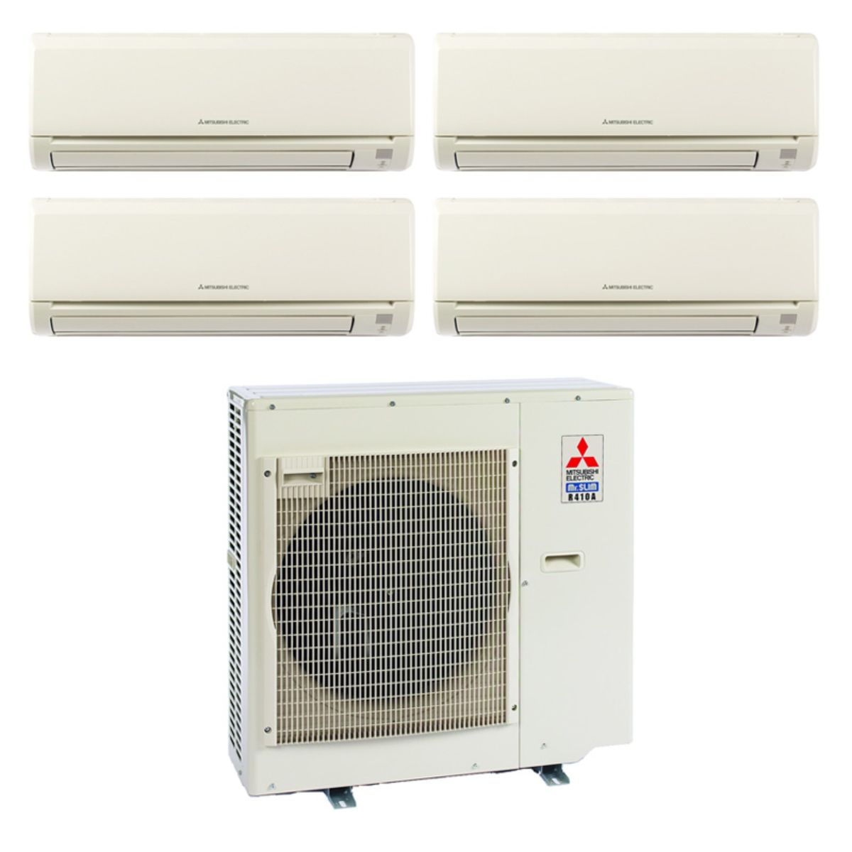 commercial ac indoor btu ductless conditioners mitsubishi pcaa ceiling components suspended air pca unit