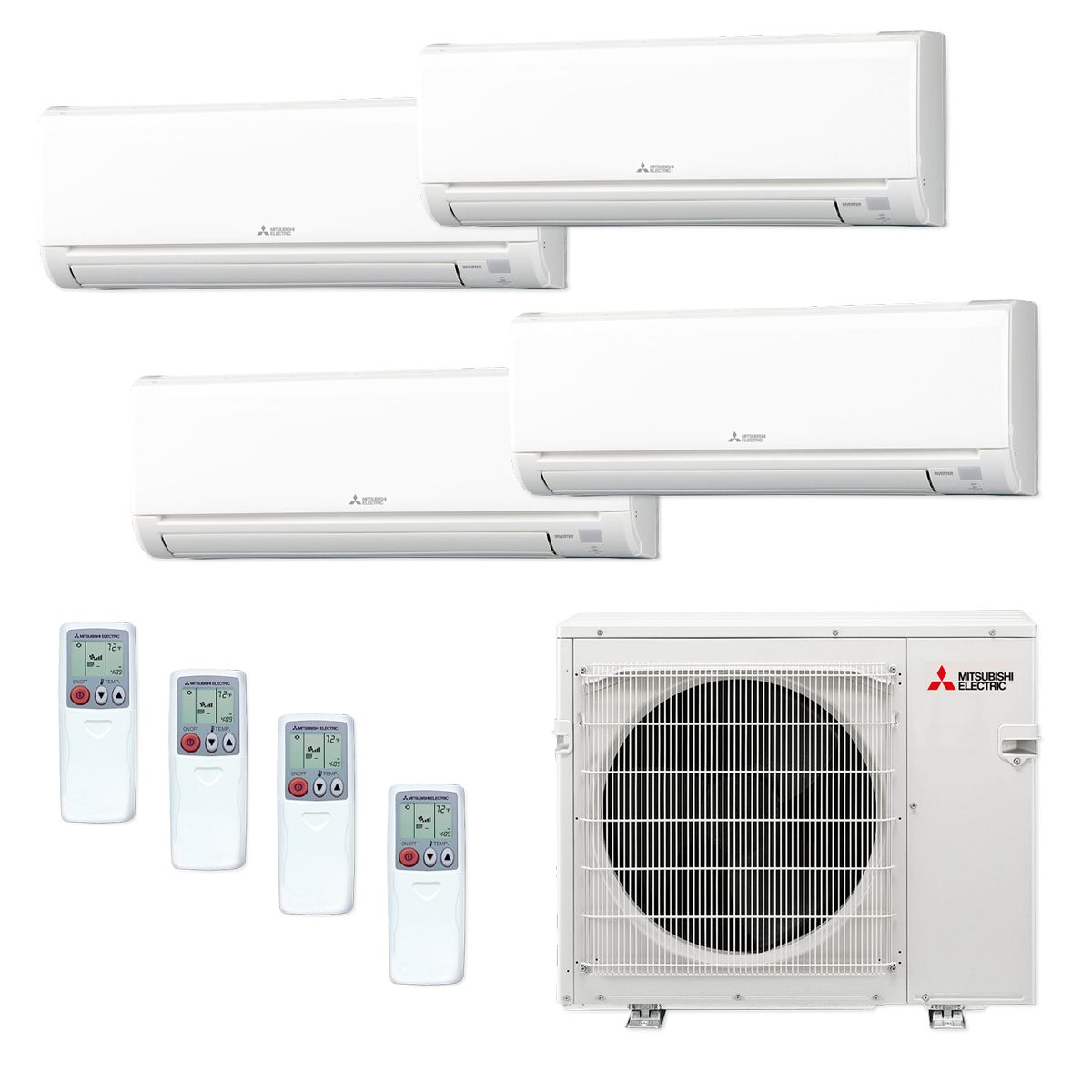 hei and air zone mxz constrain split hyper btu mitsubishi wid heat mini en fit article conditioner dual mount wall normal heating ductless