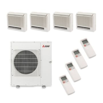 Mitsubishi MXZ5B42NA4301 - 40,800 BTU Quad-Zone Floor Mount Mini Split Heat Pump Outdoor Unit 208-230V (9-9-9-12)