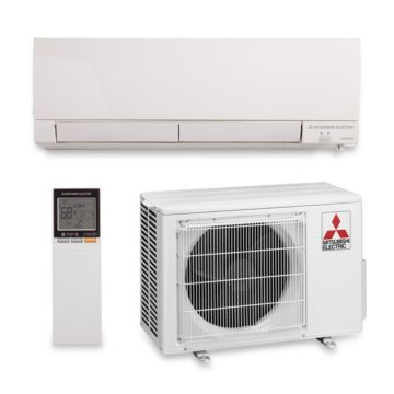 Mitsubishi MZ-FH09NA - 9,000 BTU 30.5 SEER Hyper Heat Wall Mount Ductless Mini Split Air Conditioner Heat Pump 208-230V