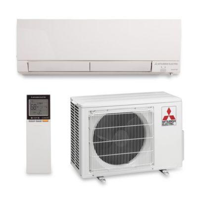 mitsubishi mzfh09na btu 305 seer hyper heat wall mount ductless mini split air conditioner heat pump 208230v