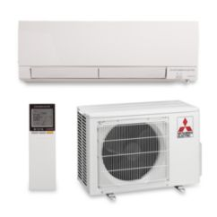 Mitsubishi MZ-FH09NA - 9,000 BTU 30.5 SEER Hyper Heat Wall Mounted Ductless Mini Split Air Conditioner with Heat Pump 220V