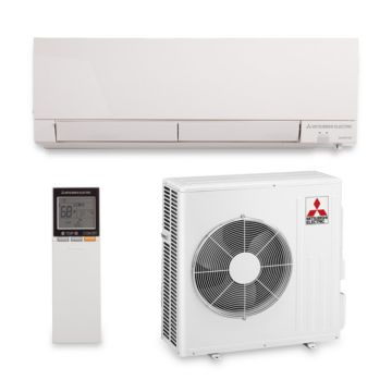 Mitsubishi MZ-FH15NA - 15,000 BTU 22 SEER Hyper Heat Wall Mount Ductless Mini Split Air Conditioner Heat Pump 208-230V