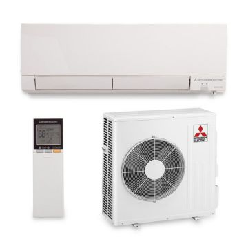 Mitsubishi MZ-FH18NA - 17,200 BTU 21 SEER Hyper Heat Wall Mounted Ductless Mini Split Air Conditioner with Heat Pump 220V