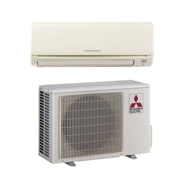 Mitsubishi MZ-GE09NA - 9,000 BTU 23.2 SEER MR SLIM Wall Mounted Ductless Mini Split Air Conditioner with Heat Pump 220V