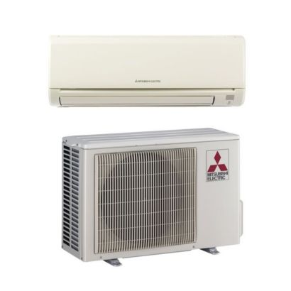 Mitsubishi MZ-GE12NA - 12,000 BTU 22.7 SEER MR SLIM Wall Mount Ductless Mini Split Air Conditioner Heat Pump 208-230V