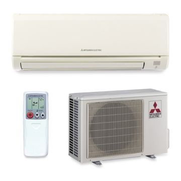 Mitsubishi MZ-GL12NA - 12,000 BTU 23.1 SEER Wall Mounted Ductless Mini Split Air Conditioner with Heat Pump 220V