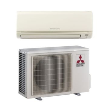 Mitsubishi MR SLIM 12,000 BTU 13 SEER Ductless Wall Mount Air Conditioner System