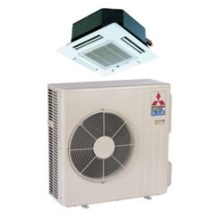 Mitsubishi SZ-KA09NA - 8,400 BTU 15 SEER MR SLIM Ceiling Cassette Ductless Mini Split Air Conditioner Heat Pump 208-230V