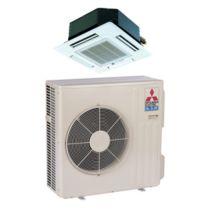Mitsubishi SZ-KA15NA - 15,000 BTU 16 SEER MR SLIM Ceiling Cassette Ductless Mini Split Air Conditioner Heat Pump 208-230V