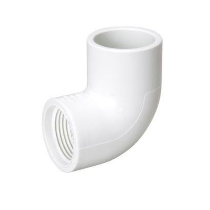 "Streamline 407-007 - 3/4"" PVC Schedule 40 Pressure Fitting - Slip x FPT 90° Elbow"