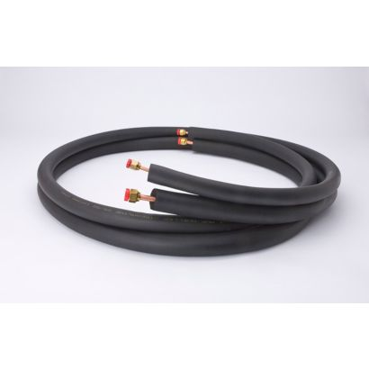 "Streamline 40820500B3B6 - 1/4"" OD x 1/2"" OD -1/2"" Insulation, 50' Length, Flare Fitting Mini-Split Line Set"