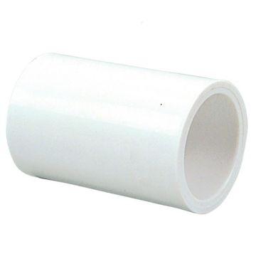 "Streamline 429-010 - 1"" PVC Schedule 40 Pressure Fitting - Slip x Slip coupling."