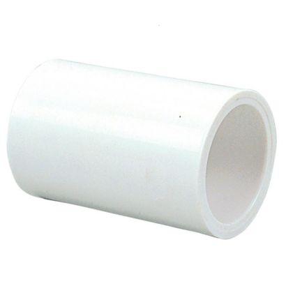 "Streamline 429-010 - 1"" PVC Schedule 40 Pressure Fitting - Slip x Slip Coupling"