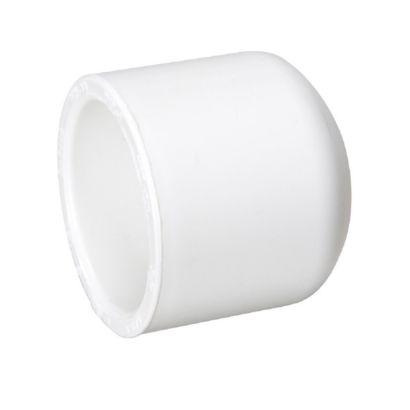 """Streamline 447-012 - 1-1/4"""" PVC Schedule 40 Pressure Fitting - Dome Slip Cap"""