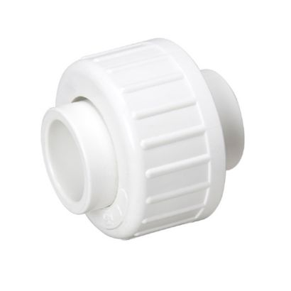 "Streamline 457-010 - 1"" PVC Schedule 40 Pressure Fitting - Slip x Slip w/Buna O-Ring Union"