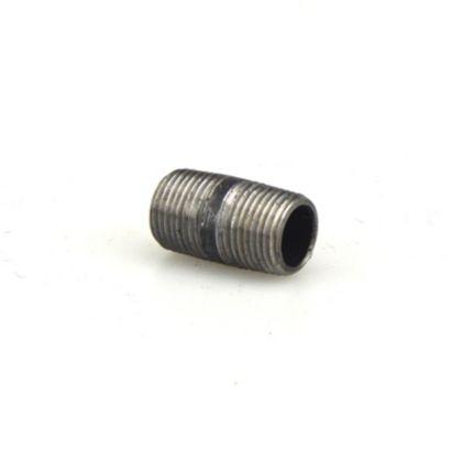 "Streamline 583-015 - 1/2"" x 1-1/2"" Black Standard Welded Steel Pipe Nipple"