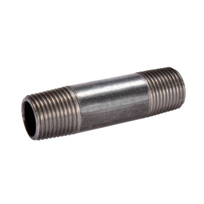 Streamline 583-030 - 1/2 x 3 Black Standard Welded Steel Pipe Nipple