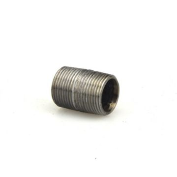 "Streamline 584-001 - 3/4"" x Close Black Standard Welded Steel Pipe Nipple"