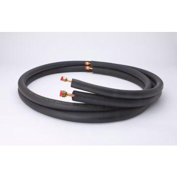 "Streamline 61020500B3B6 - 3/8"" OD x 5/8"" OD - 1/2"" Insulation Flare fittings, 50' Length, Mini-Split Line Set"