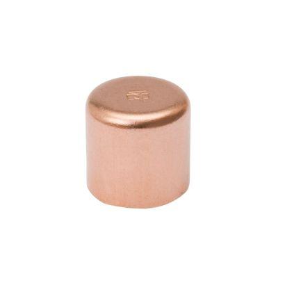 "Streamline W 07011R - 1-1/8"" OD Tube Cap Copper Fitting"