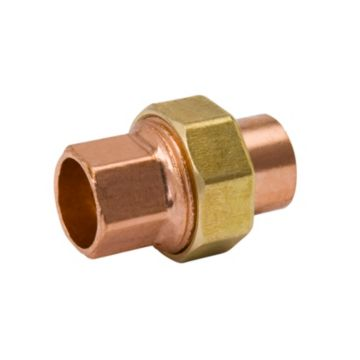 "Streamline W 08004R - 7/8"" OD C x C Union Copper Fitting"