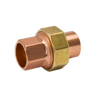 """Streamline W 08005R - 1-1/8"""" OD C x C Union Copper Fitting"""