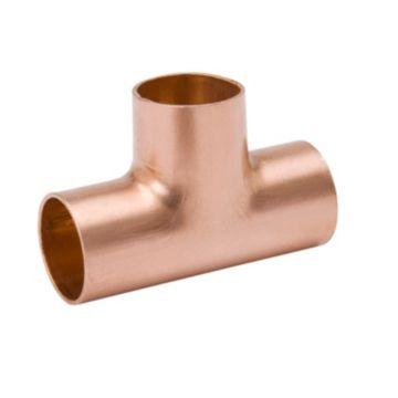 """Streamline W 40306R - 1/4"""" OD Tee, Copper Fitting"""