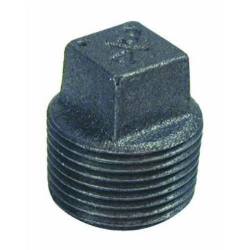 "Southland 521-804 - 3/4"" Plug Black 150Lb. Malleable Iron Fitting"