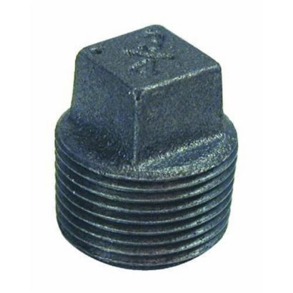 """Southland 521-804 - 3/4"""" Plug Black 150Lb. Malleable Iron Fitting"""