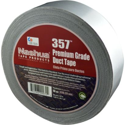 Nashua 1086141 - Silver Premium Duct Tape 48mm x 55m