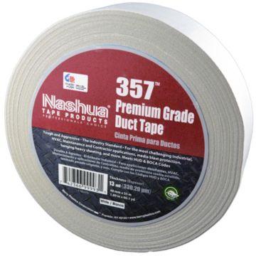 Nashua 1086150 - White Premium Duct Tape 48mm x 55m