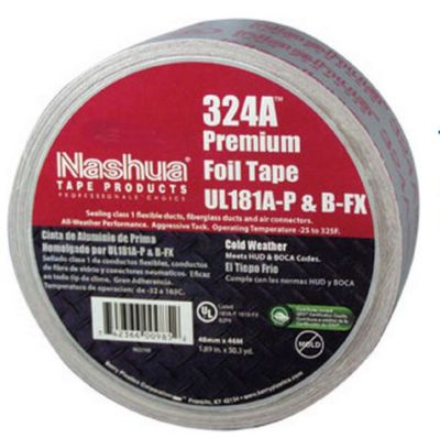Nashua 1087631 - B-FX Listed Premium Cold Weather Foil Tape 72mm x 60 yd