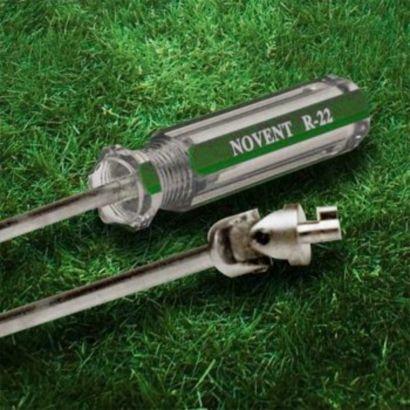 Novent® 86660 -  Screwdriver Key R22/Universal Unlocks Green/Silver Caps
