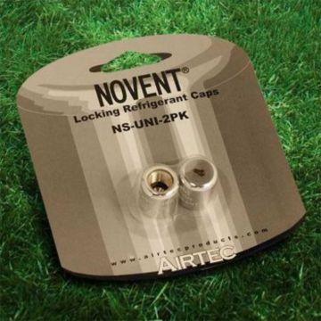 "Novent® NS-UNI-2PK - 1/4"" Refrigerant Cap Locks for universal refrigerant - 2 Pack"
