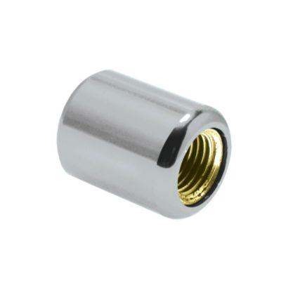 "Novent® 86693 - 1/4"" Universal Silver Locking Caps 50-Pk"