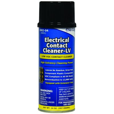 Nu-Calgon 4082-04 - Electrical Contact Cleaner-LV (14 oz)