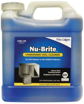 Nu-Calgon 4291-05 - Nu-Brite Condenser Coil Cleaner - 2.5 gallon