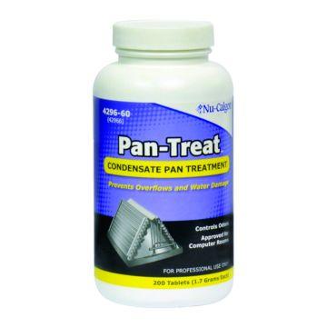Nu-Calgon Pan-Treat Condensate Pan Treatment - 200 Tablet Jar